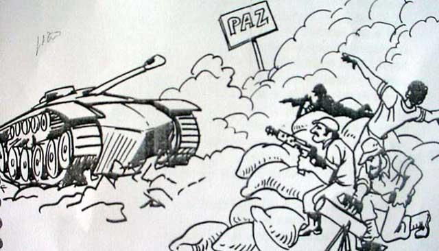 Imfelizmente se faz guerra por religião...